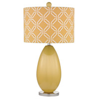 Dimond Sevenoakes 1 Light Table Lamp in Sunshine Yellow D2498
