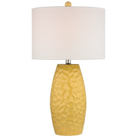 Dimond Selsey 1 Light Table Lamp in Sunshine Yellow D2500