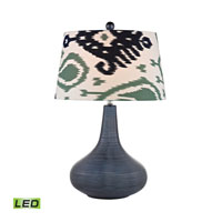 Dimond Penarth 1 Light Table Lamp in Navy Blue D2520-LED