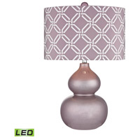 Ivybridge 22 inch 9.5 watt Lilac Luster Table Lamp Portable Light in LED