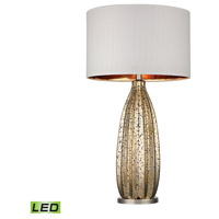 Dimond Pennistone 1 Light Table Lamp in Antique Gold Mercury With Polished Nickel D2533-LED