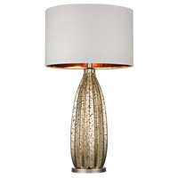 Dimond Lighting D2533 Pennistone 31 inch 150 watt Antique Gold Mercury With Polished Nickel Table Lamp Portable Light in Incandescent
