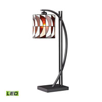 Dimond Eastbourne 1 Light Table Lamp in Matte Black D2541-LED