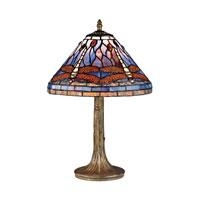Dimond Dawnsih 1 Light Table Lamp in Dark Bronze D2543