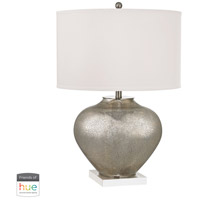 Dimond Lighting D2544-HUE-B Edenbridge 28 inch 60 watt Antique Silver Mercury Table Lamp Portable Light