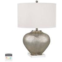 Dimond Lighting D2544-HUE-D Edenbridge 28 inch 60 watt Antique Silver Mercury Table Lamp Portable Light