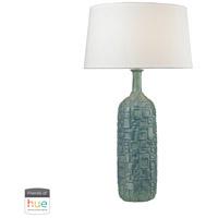 Dimond Lighting D2612B-HUE-D Cubist 35 inch 60 watt Blue Bottle Lamp Portable Light