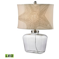 Dimond Lighting Bottle 1 Light LED Table Lamp in Clear Glass D2617-LED