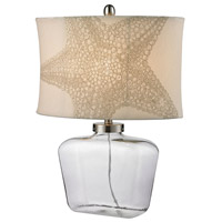 Dimond Lighting Bottle 1 Light Table Lamp in Clear Glass D2617