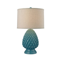 Dimond Lighting D2620 Acorn Ceramic 28 inch 150 watt Deep Seafoam Glaze Table Lamp Portable Light in Incandescent