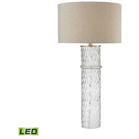 Dimond Lighting Two Tier 1 Light LED Table Lamp in Clear Glass D2653-LED