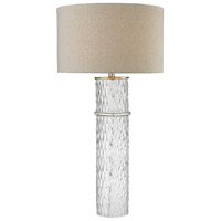 Dimond Lighting Two Tier 1 Light Table Lamp in Clear Glass D2653