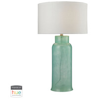 Dimond Lighting D2654-HUE-D Glass Bottle 31 inch 60 watt Seafoam Green Table Lamp Portable Light