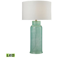 Water Glass 31 inch 9.5 watt Seafoam Table Lamp Portable Light in LED
