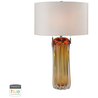 Dimond Lighting D2660W-HUE-D Ferrara 25 inch 60 watt Amber Table Lamp Portable Light