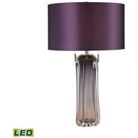Dimond Lighting Ferrara 2 Light LED Table Lamp in Purple D2661-LED