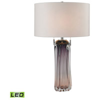 Dimond Lighting D2661W-LED Ferrara 25 inch 9.5 watt Purple Table Lamp Portable Light in LED