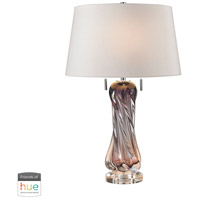 Dimond Lighting D2663W-HUE-D Vergato 24 inch 60 watt Purple Table Lamp Portable Light