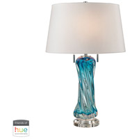 Dimond Lighting D2664W-HUE-B Vergato 24 inch 60 watt Blue Table Lamp Portable Light