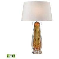 Dimond Lighting Modena 2 Light LED Table Lamp in Amber D2669W-LED