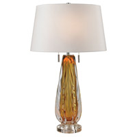 Dimond Lighting D2669W Modena 26 inch 60 watt Amber Table Lamp Portable Light in Incandescent