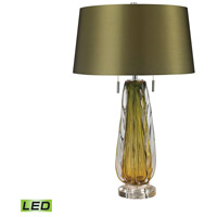Modena 24 inch 9.5 watt Green Table Lamp Portable Light in LED
