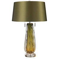 Modena 24 inch 60 watt Green Table Lamp Portable Light in Incandescent