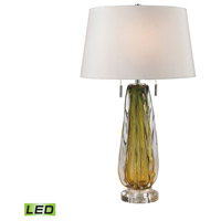 Dimond Lighting Modena 2 Light LED Table Lamp in Green D2670W-LED