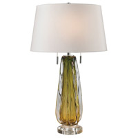 Dimond Lighting D2670W Modena 24 inch 60 watt Green Table Lamp Portable Light in Incandescent