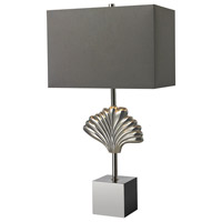 Dimond Lighting Vergato 1 Light Table Lamp in Polished Chrome D2675