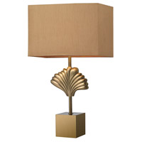 Dimond Lighting D2676 Vergato 27 inch 100 watt Aged Brass Table Lamp Portable Light in Incandescent