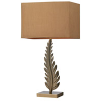 Oak Cliff 27 inch 100 watt Aged Brass Table Lamp Portable Light in Incandescent