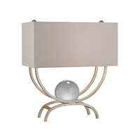 Dimond Lighting Chelsea 1 Light Table Lamp in Silver Leaf D2687