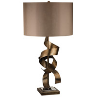 Dimond Lighting Allen 1 Light Table Lamp in Roxford Gold D2688
