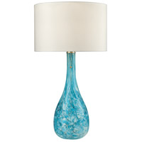 Dimond Lighting D2691 Mediterranean 29 inch 100 watt Seafoam Green Table Lamp Portable Light in Incandescent