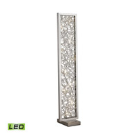 Basinger 60 inch 1.5 watt Silver Floor Lamp Portable Light
