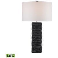 Dimond Lighting D2766 Led Punk 30 Inch 9 50 Watt Black Table Lamp Portable Light In Led 3 Way