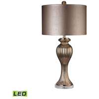Dimond Lighting D2771-LED Ribbed Tulip 32 inch 9.5 watt Copper Table Lamp Portable Light in LED