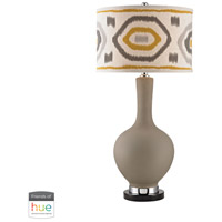 Dimond Lighting D2809-HUE-B Signature 34 inch 60 watt Clay Table Lamp Portable Light