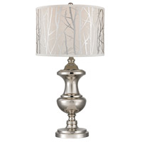 Spun Metal 30 inch 150 watt Polished Nickel Table Lamp Portable Light in Incandescent