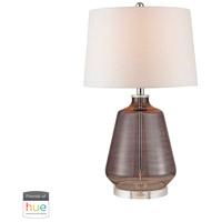 Dimond Lighting D2835-HUE-B Signature 27 inch 60 watt Grey Smoke Table Lamp Portable Light