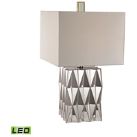 Hearst 26 inch 9.5 watt Mirror Table Lamp Portable Light in LED