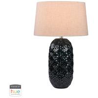 Dimond Lighting D2866-HUE-D Signature 28 inch 60 watt Teal Table Lamp Portable Light