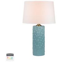 Dimond Lighting D2871-HUE-D Lilly 30 inch 60 watt Duck Egg Table Lamp Portable Light