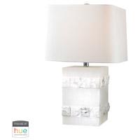 Dimond Lighting D2900-HUE-B Mystery Cube 26 inch 60 watt Alabaster Table Lamp Portable Light
