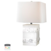 Dimond Lighting D2900-HUE-D Mystery Cube 26 inch 60 watt Alabaster Table Lamp Portable Light