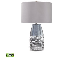 Kennebunkport 27 inch 9.5 watt Horizon Grey Table Lamp Portable Light