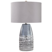 Kennebunkport 27 inch 100 watt Horizon Grey Table Lamp Portable Light