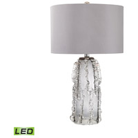 Palais 27 inch 9.5 watt Grey Smoke Table Lamp Portable Light
