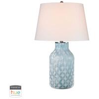 Dimond Lighting D2922-HUE-B Sophie 31 inch 60 watt Santa Monica Blue Table Lamp Portable Light